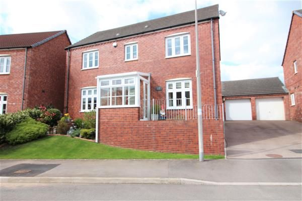 Thumbnail Detached house for sale in Llewellyns View, Gilfach Goch, Tonyrefail