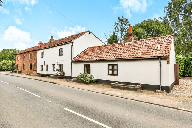 Thumbnail Semi-detached house for sale in Dereham Road, Whinburgh, Dereham