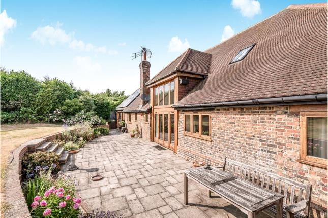 Patio Area of Barrow Hill, Henfield, West Sussex BN5