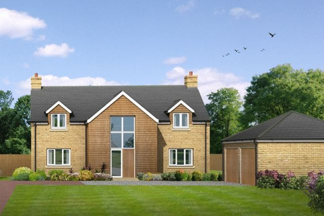 Thumbnail Detached house for sale in Gordon Road, Little Paxton, St. Neots