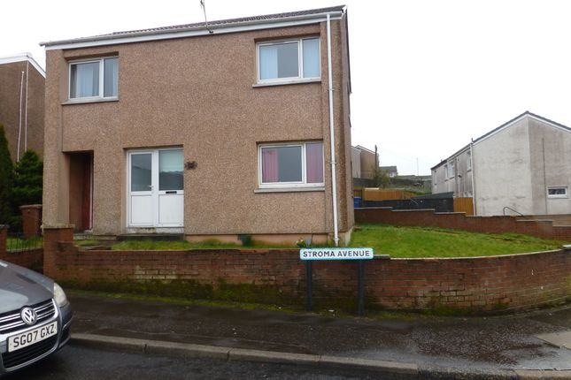 Thumbnail Detached house for sale in Stroma Avenue, Port Glasgow