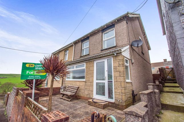 Thumbnail Semi-detached house for sale in Beech Street, Gilfach Goch, Porth