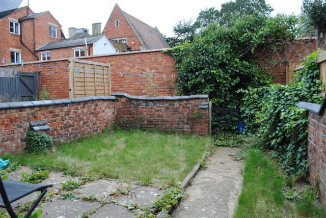Rear Garden of Washington Street, Kingsthorpe Village, Northampton NN2