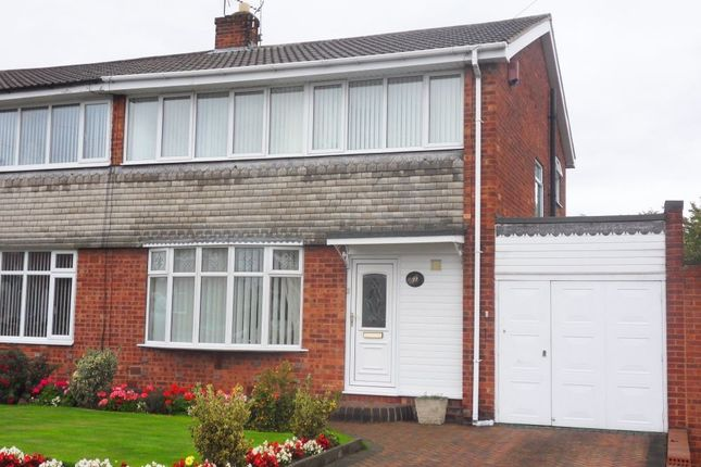 Thumbnail Semi-detached house to rent in Windsor Road, Carlton-In-Lindrick, Nottinghamshire