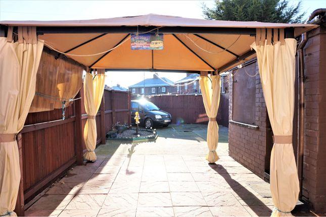 Rear Garden of Cherwell Terrace, Middlesbrough TS3