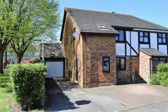Thumbnail Semi-detached house for sale in Academy Drive, Gillingham
