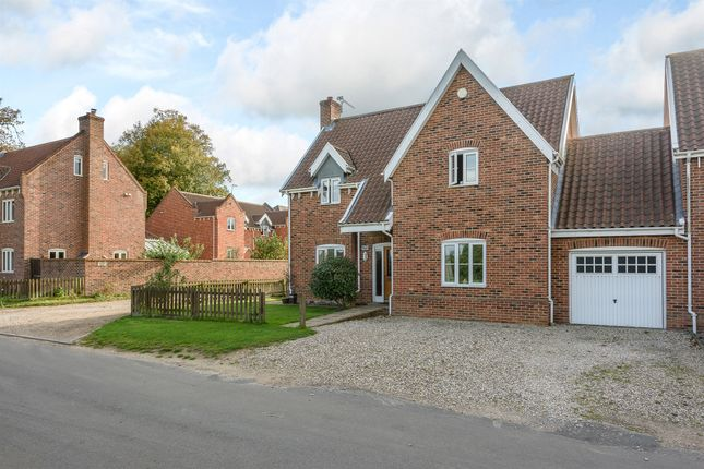 Thumbnail Detached house for sale in The Common, Swardeston, Norwich