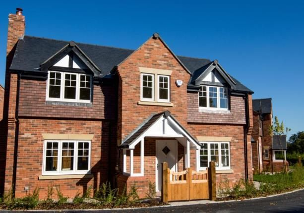 Thumbnail Detached house for sale in Daresbury Lane, Hatton, Warrington, Cheshire