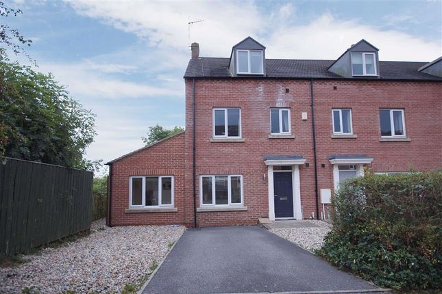 Thumbnail End terrace house to rent in Florin Drive, Knaresborough, North Yorkshire