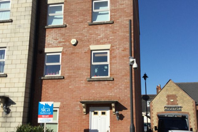 Thumbnail End terrace house to rent in Godwin Court, Swindon