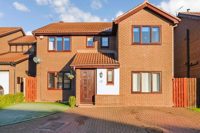 Thumbnail Detached house for sale in Blagdon Close, Morpeth