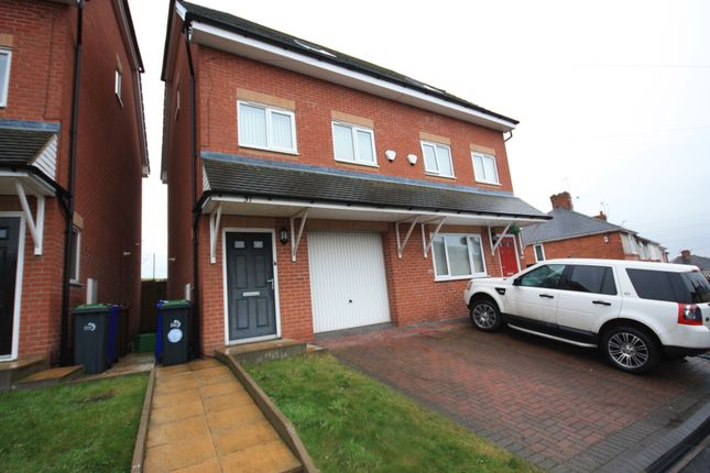 Thumbnail Semi-detached house to rent in Wignall Road, Sandyford, Stoke-On-Trent