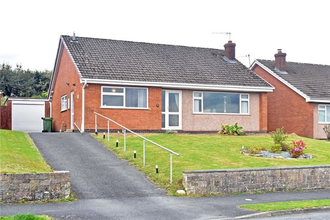 2 bed bungalow for sale in Pentrosfa Road, Llandrindod Wells, Powys LD1