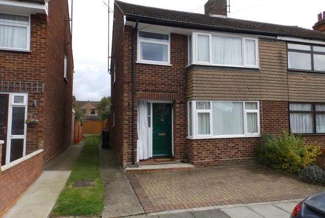 Thumbnail Semi-detached house for sale in Phoenix Road, Ipswich
