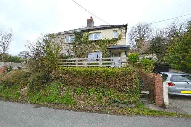 Thumbnail Semi-detached house for sale in Penybanc, Llandeilo