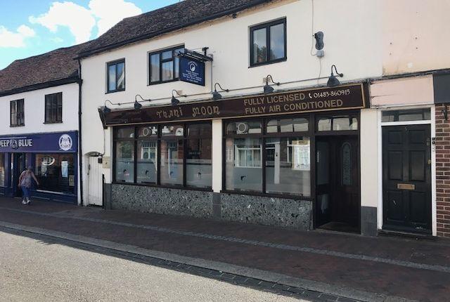 Thumbnail Retail premises to let in Bridge Street, Godalming