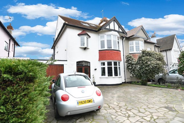 Thumbnail Semi-detached house for sale in Victoria Avenue, Southend-On-Sea