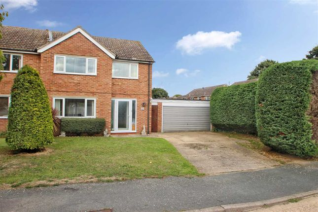 Thumbnail Semi-detached house for sale in Winstree Close, Layer-De-La-Haye, Colchester