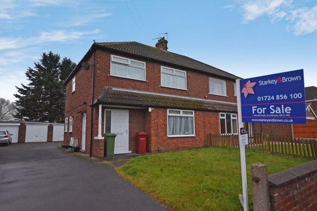 Thumbnail Flat for sale in Staindale Road, Ashby, Scunthorpe