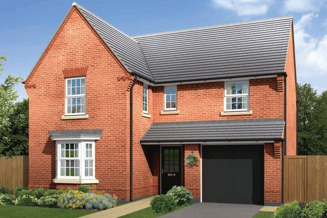 "Thumbnail Detached house for sale in ""Exeter"" at Morganstown, Cardiff"