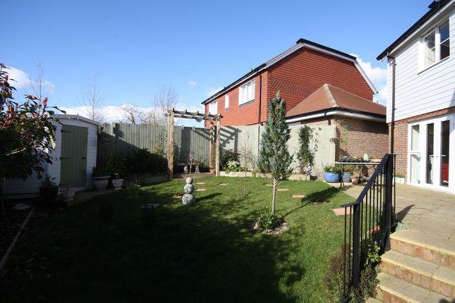 Garden At Back of Breakspear Gardens, Beare Green, Dorking RH5