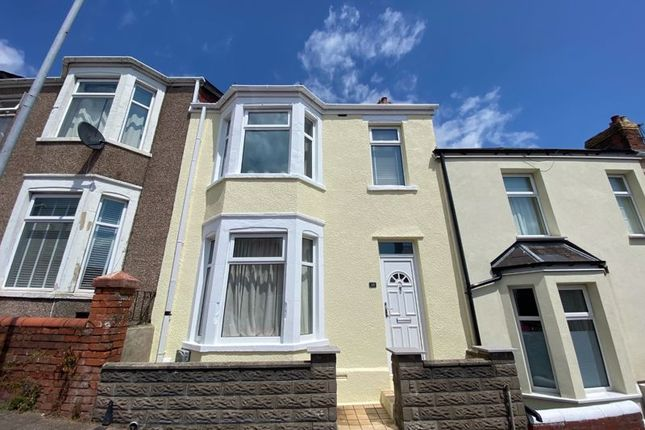 Thumbnail Terraced house for sale in Trinity Street, Barry