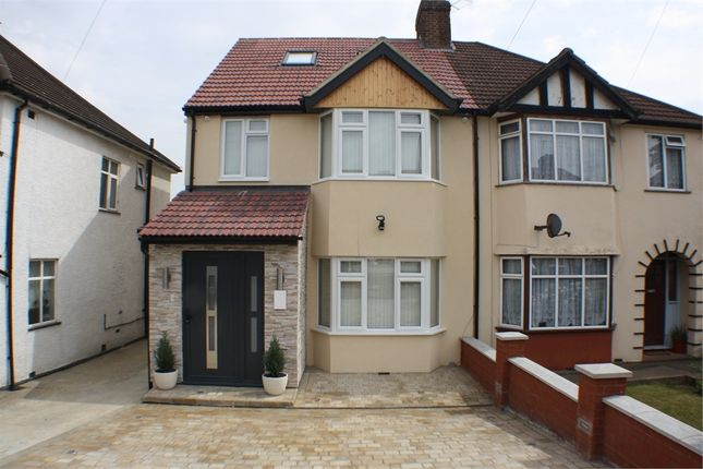 Thumbnail Semi-detached house to rent in Axholme Avenue, Edgware, Middlesex