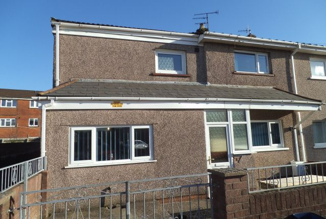 Thumbnail Semi-detached house for sale in Terfyn, Ynysawdre, Bridgend