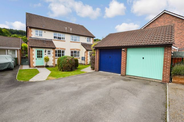 Thumbnail Semi-detached house for sale in Clos Graddfa, Forge Mill, Ystrad Mynach
