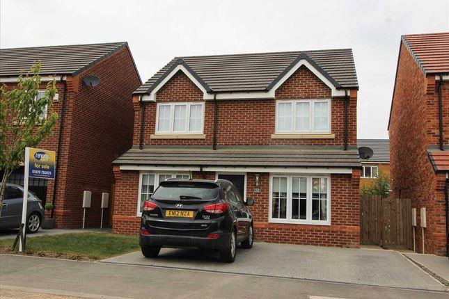 Thumbnail Detached house for sale in Rouen Crescent, Barley Meadows, Cramlington