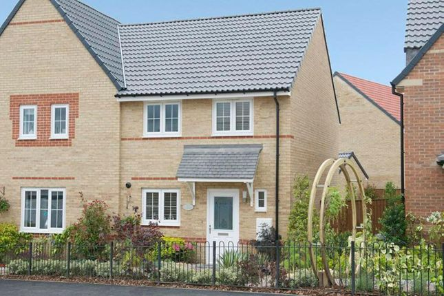 """Thumbnail Semi-detached house for sale in """"Barwick"""" at Laughton Road, Thurcroft, Rotherham"""