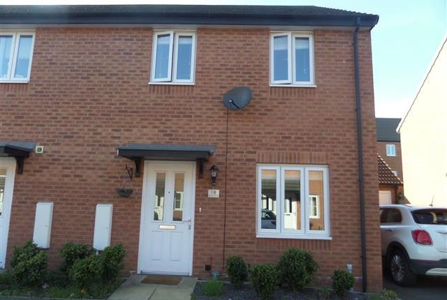 Thumbnail Semi-detached house to rent in Iris Crescent, Lincoln