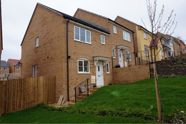 Thumbnail Semi-detached house for sale in Crocker Way, Wincanton
