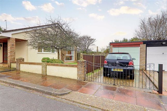 Thumbnail Detached bungalow for sale in Downlands Gardens, Broadwater, Worthing, West Sussex