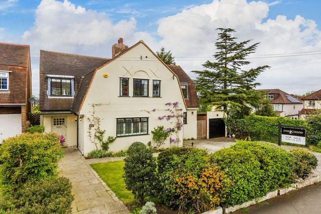 Thumbnail Detached house for sale in Tudor Close, Cheam Village, Sutton