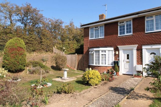 End terrace house for sale in Lynholm Road, Polegate