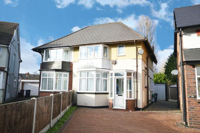 Thumbnail Semi-detached house for sale in Homecroft Road, Yardley, Birmingham