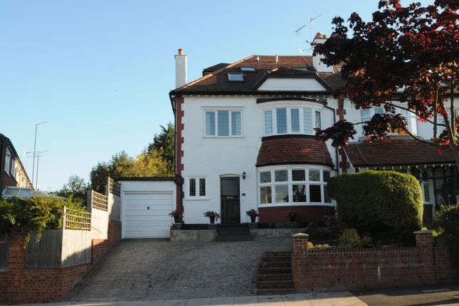 Thumbnail Semi-detached house for sale in Argyle Road, London N12, Woodside Park, N12,