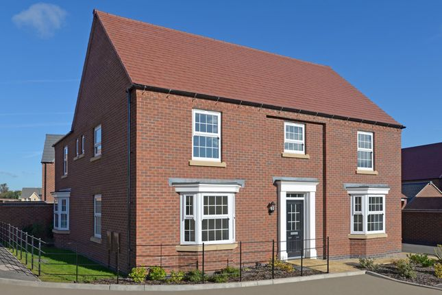 "Thumbnail Detached house for sale in ""Henley"" at Stoke Road, Poringland, Norwich"