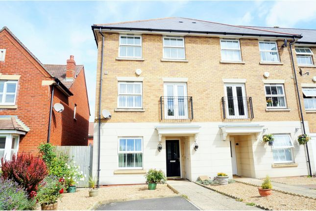 Thumbnail End terrace house for sale in Hotel Road, Upper Gillingham