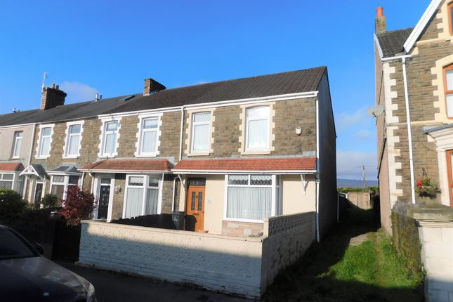 Thumbnail End terrace house for sale in Gnoll Park Road, Neath