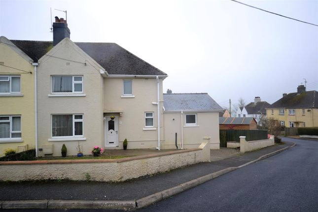 Thumbnail Semi-detached house for sale in Coxhill, Narberth