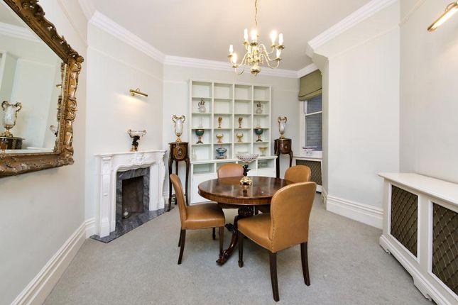 Dining Room of Zetland House, Marloes Road, Kensington, London W8