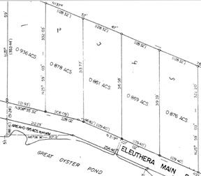 Land for sale in Palmetto Point, Eleuthera, The Bahamas