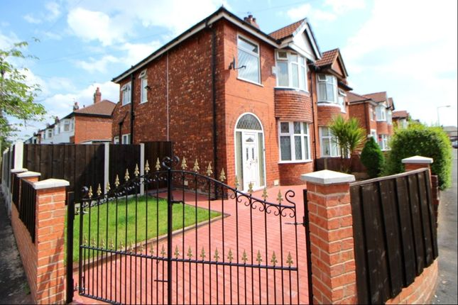 Thumbnail Semi-detached house to rent in Leamington Road, Stockport