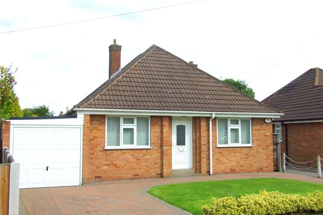 Thumbnail Detached bungalow for sale in Hardwick Avenue, Allestree, Derby