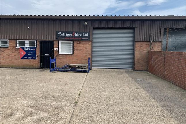 Thumbnail Industrial to let in Unit 37, The Warren, East Goscote, Leicester, Leicestershire