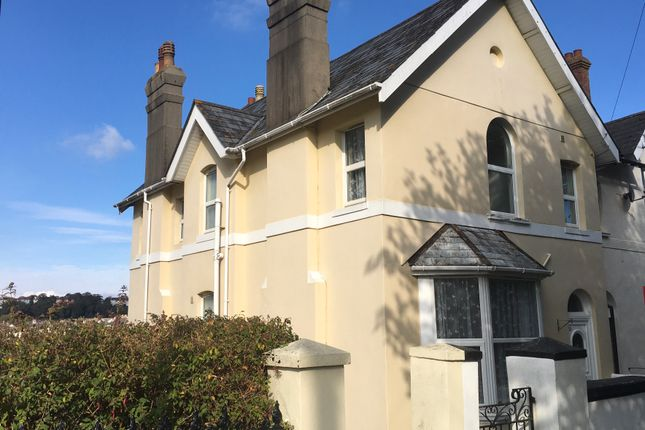 Thumbnail Maisonette to rent in Thurlow Road, Torquay