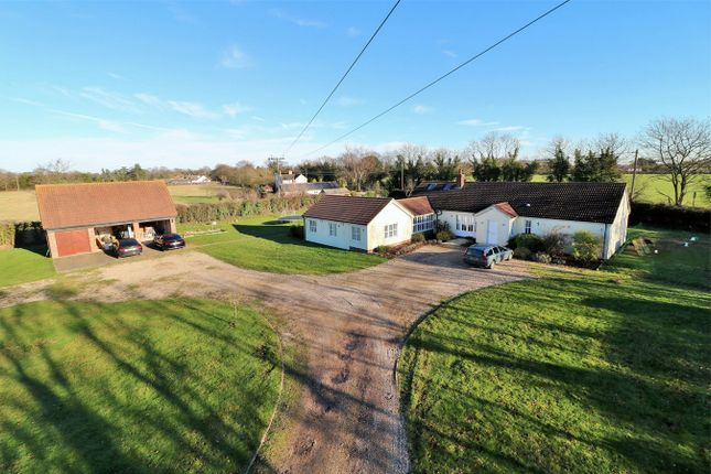 Thumbnail Detached bungalow for sale in Harts Lane, Ardleigh, Colchester, Essex