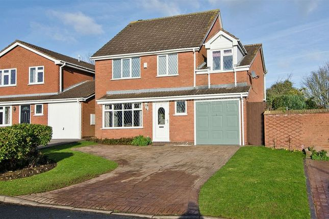Thumbnail Detached house for sale in Hartslade, Boley Park, Lichfield